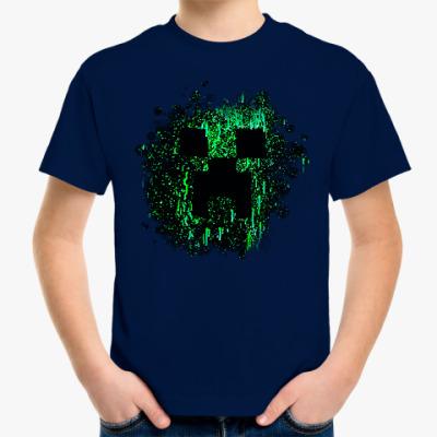Детская футболка Minecraft Creeper