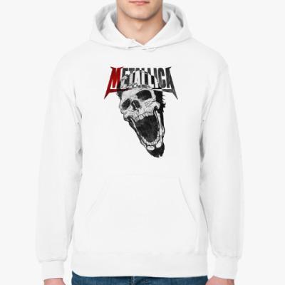 Толстовка худи Metallica Skull
