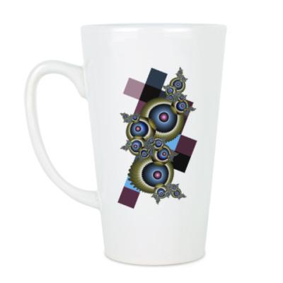 Чашка Латте Глаза