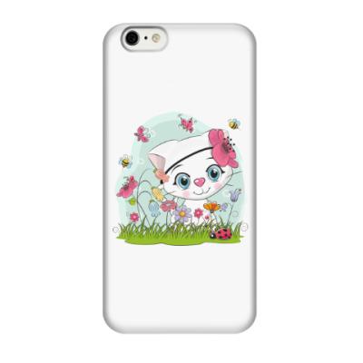 Чехол для iPhone 6/6s Кошка