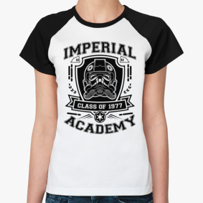 Женская футболка реглан Imperial Academy