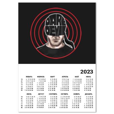Календарь Daredevil / Сорвиголова