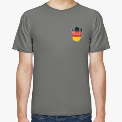 Футболка Болеем за Германию!