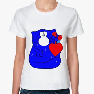 Классическая футболка  котэ