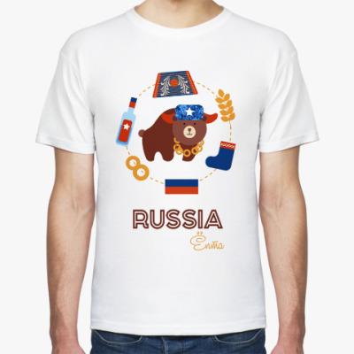 Футболка Russia, Ёпта
