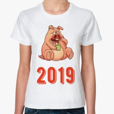 Классическая футболка Fat Pig 2019