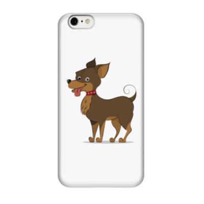 Чехол для iPhone 6/6s Милая собака той-терьер