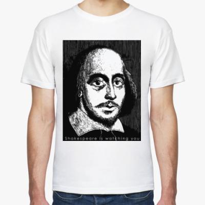 Футболка Shakespeare is watching you