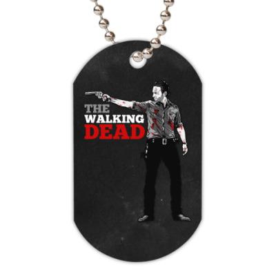 Жетон dog-tag The Walking Dead