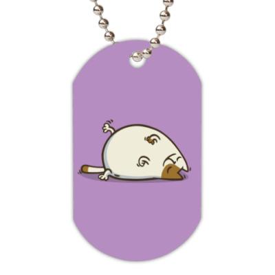 Жетон dog-tag  Пятничный Котик №18