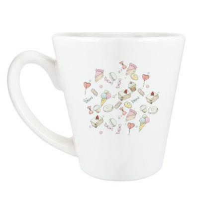 Чашка Латте Завтрак у малышки Тиффани