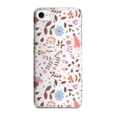 Чехол для iPhone 7/8 Осенние цветы