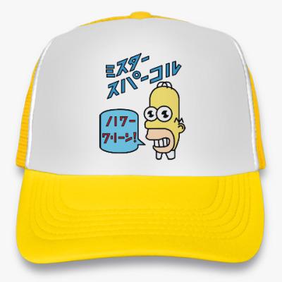 Кепка-тракер Симпсоны: Японский Гомер