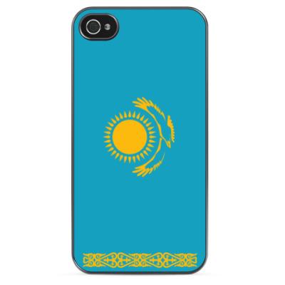 Чехол для iPhone Флаг Казахстана