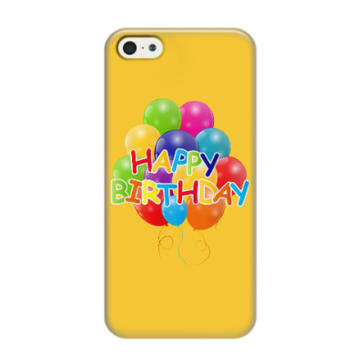 Чехол для iPhone 5/5s Happy Birthday