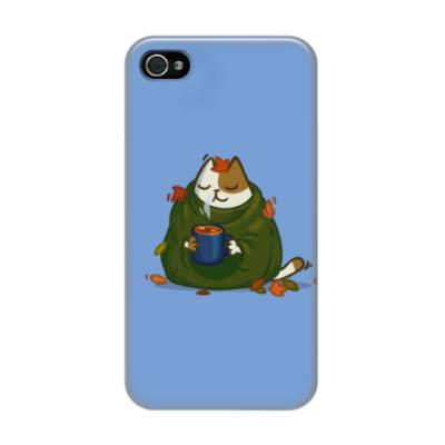 Чехол для iPhone 4/4s Пятничный Котик №23