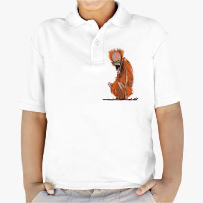 Детская рубашка поло Огненная Обезьяна