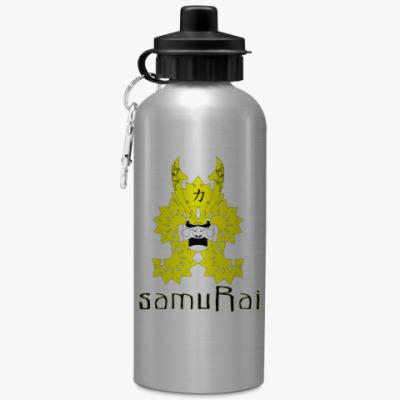 Спортивная бутылка/фляжка Самурай
