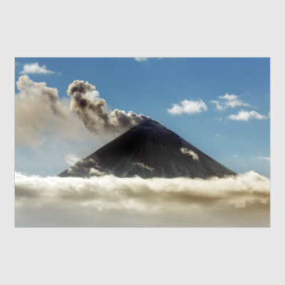 Постер Камчатка, Ключевской вулкан