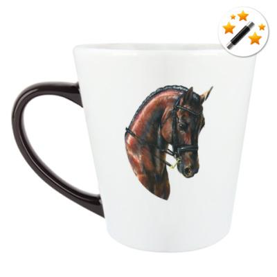Кружка-хамелеон Лошадь