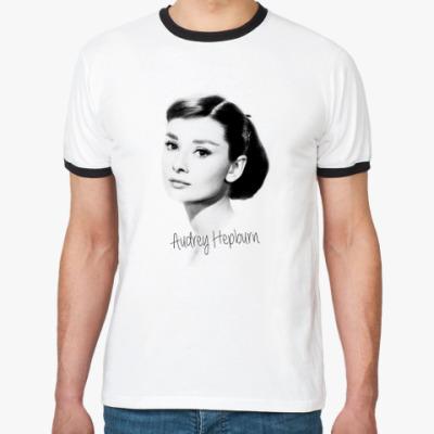 Футболка Ringer-T Audrey Hepburn