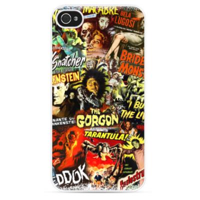 Чехол для iPhone Retro Horror Movie Posters