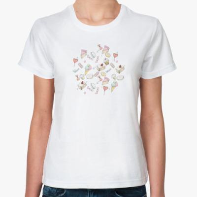 Классическая футболка Завтрак у малышки Тиффани