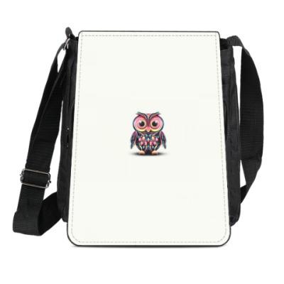 Сумка-планшет 'Милые совы'