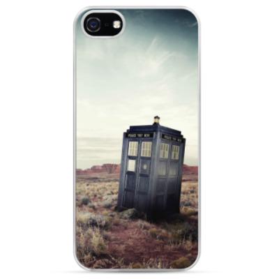Чехол для iPhone Doctor Who Tardis
