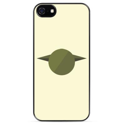 Чехол для iPhone Магистр Йода (Yoda) минимализм