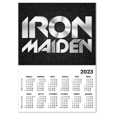 Календарь Iron Maiden