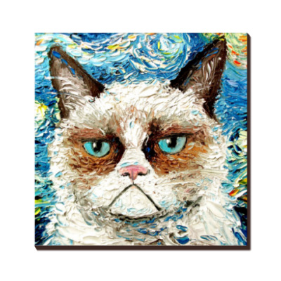 Grumpy cat (угрюмый кот Тард)
