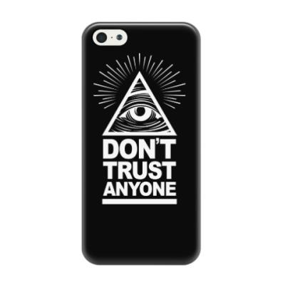 Чехол для iPhone 5/5s Don't Trust Anyone