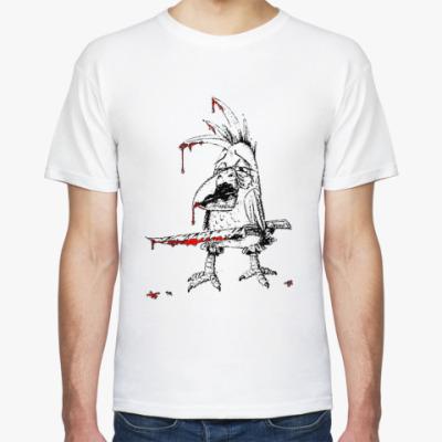 Футболка Кровавый попугай