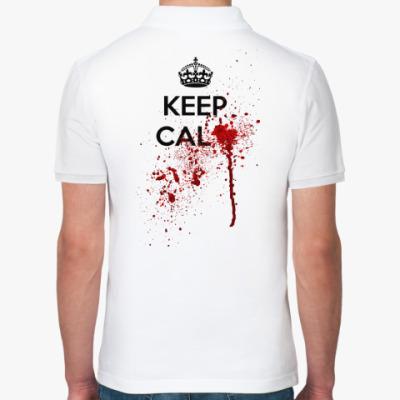 Рубашка поло Keep Calm ...