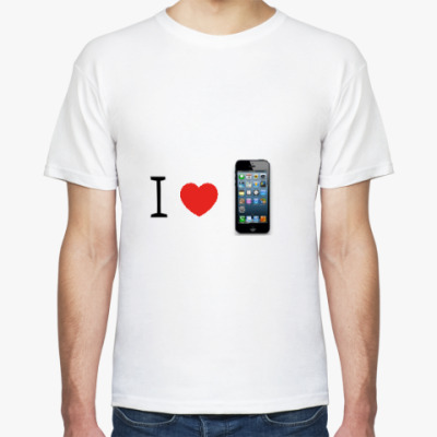 Футболка I Love Iphone