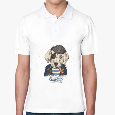 Рубашка поло Пиратский собака