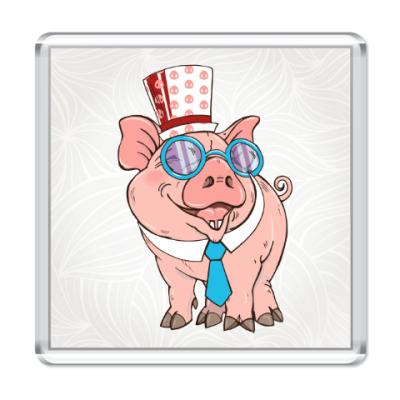 Магнит Год свиньи