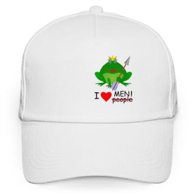 Кепка бейсболка Царевна-лягушка