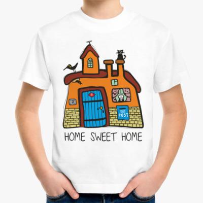 Детская футболка 'Домик'