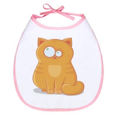 Слюнявчик Baby cat