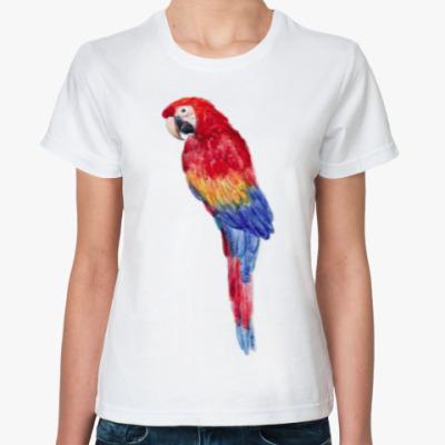 Классическая футболка Какаду