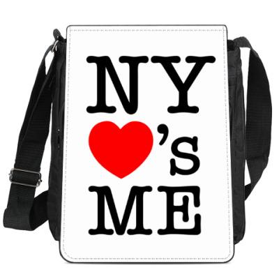 Сумка-планшет New York Loves Me