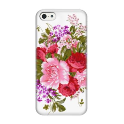 Чехол для iPhone 5/5s Нежный букет