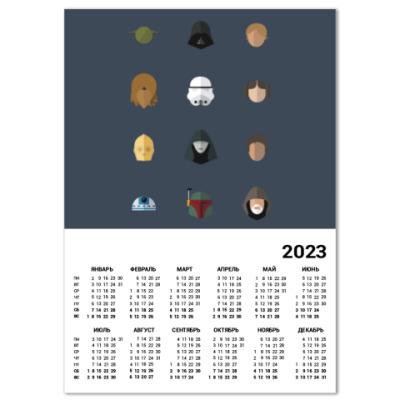Календарь Персонажи Звездных Войн