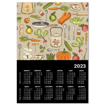 Календарь Ретро кухня