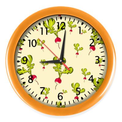 Настенные часы Редиски