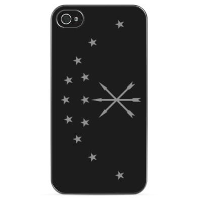 Чехол для iPhone Флаг Республики Адыгея
