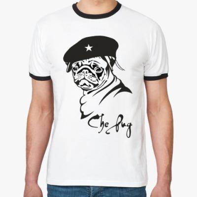 Футболка Ringer-T CHE PUG