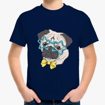 Детская футболка Мопс